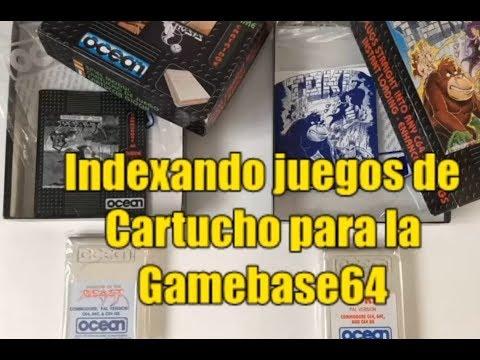 Indexando cartuchos para la Gamebase64 --- C64 REAL 50hz