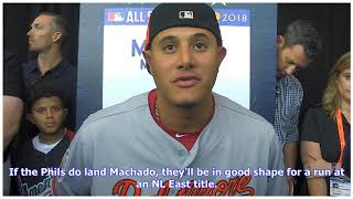Manny Machado Odds: Phillies Favored to Land Star over Yankees, White Sox