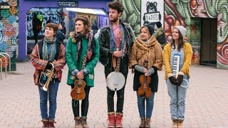 Pip and the Polar Bears - Trumpet Call at the South Bank Flower Market - Live