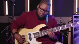 """Kenneth """"KayBass"""" Diggs Demonstrates How to Play """"For Your Glory"""" by Tasha Cobbs Leonard (4K)"""