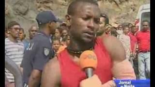 Vadu - Morte de Vadu - Reportagem da Televisão de Cabo Verde - 13 de janeiro de 2010