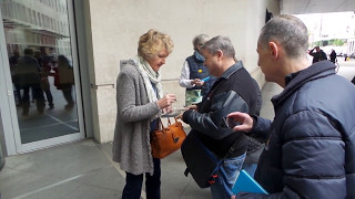 Dame Penelope Keith, DBE, DL in London 06 05 2017