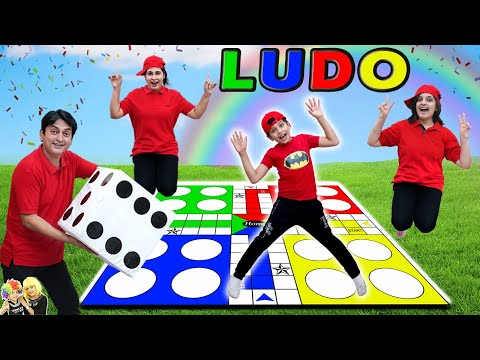 LUDO   Comedy Family Challenge   Biggest Ludo Outdoor game   Aayu and Pihu Show