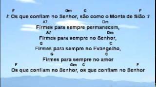 Os Que Confiam No Senhor - Oziel Campos de Oliveira Jr, IECLB