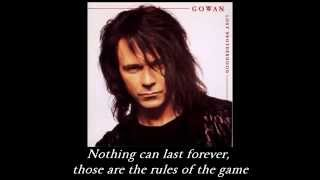 Lawrence Gowan - Love Makes You Believe (With Lyrics)
