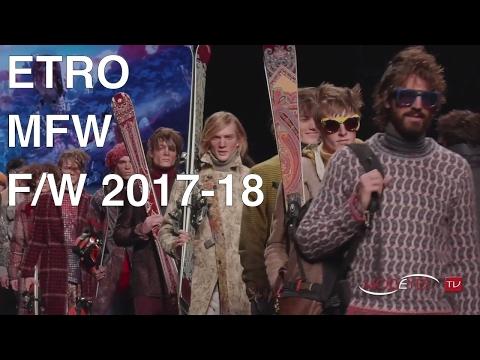 ETRO | FALL WINTER 2017 - 2018 | Backstage + Fashion Show