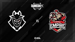 G2 Esports vs. Team Empire - Consulate - Rainbow Six Pro League - Season X - EU