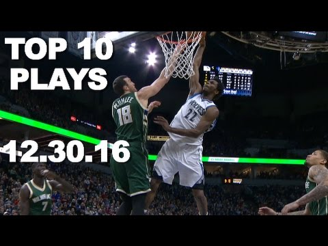 Top 10 NBA Plays of the Night: 12.30.16