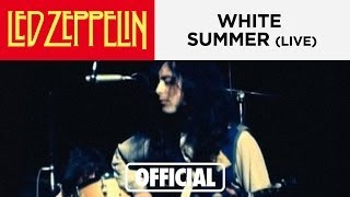 Led Zeppelin : White Summer (Live at Royal Albert Hall 1970)
