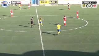 2° TEMPO MAZARA - CANICATTI' 0-0