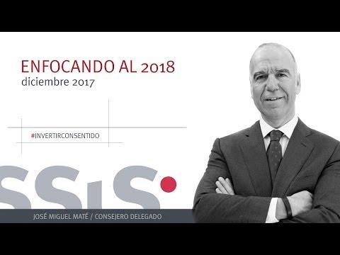 José Miguel Maté analiza estas últimas semanas en los mercados financieros y nos avanza dónde debemos prestar atención en el 2018.