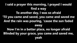 Blinded by your grace by Stormzy ft. MNEK lyrics