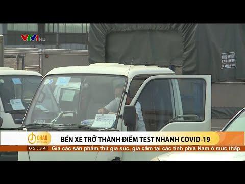Hà Nội tiếp tục giãn cách xã hội - Bến xe trở thành điểm test nhanh COVID-19   VTV24