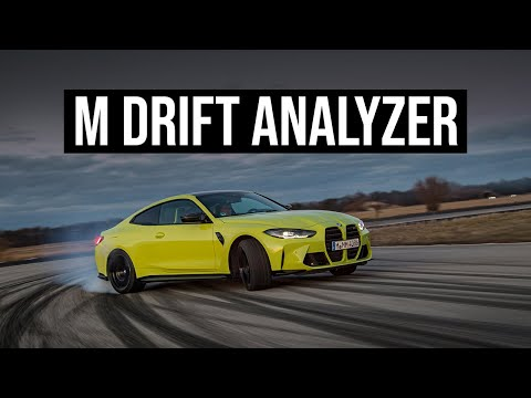 2021 BMW M4 Coupe | Track Driving an M Drift Analyzer In Action
