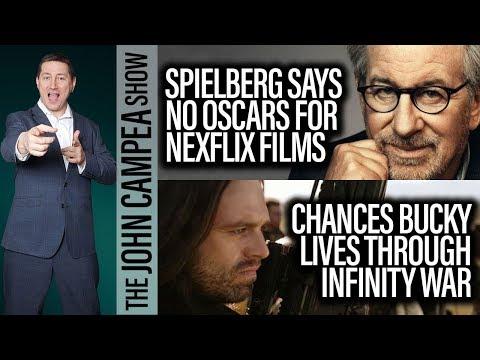 Spielberg Says Streaming Movies Shouldn