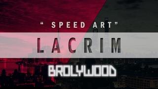 Speed art | Cover Lacrim - force & honneur ( SERIE 7 )