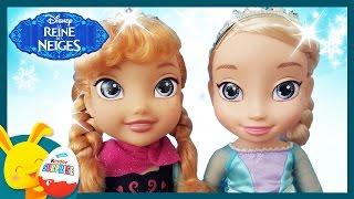 Poupée reine des neiges - Elsa et Anna - Jouets pour enfants - Titounis