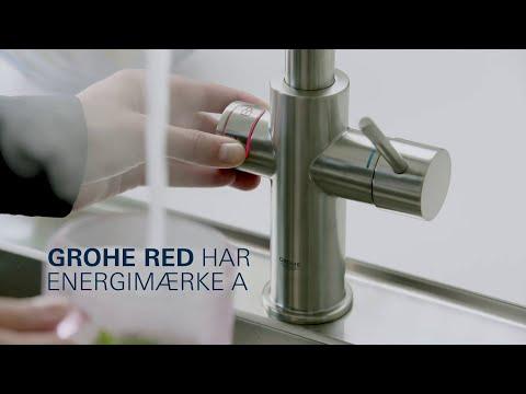 Spar på energien i køkkenet med en GROHE Red