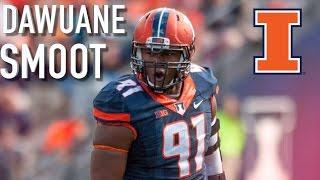 Dawaune Smoot || Official Illinois Highlights