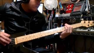 X JAPAN オルガスム orgasm Bass Cover killer impulss