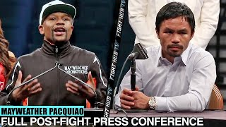 Manny Pacquiao vs Floyd Mayweather Post Fight Press Conference