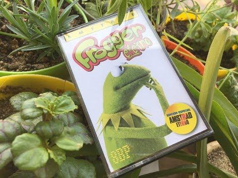 """Juego """"Frogger Eterno"""" creado con 8BP v36"""