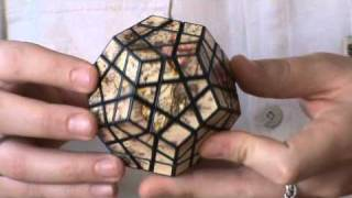 Olivér's Special stickerd Map Megaminx