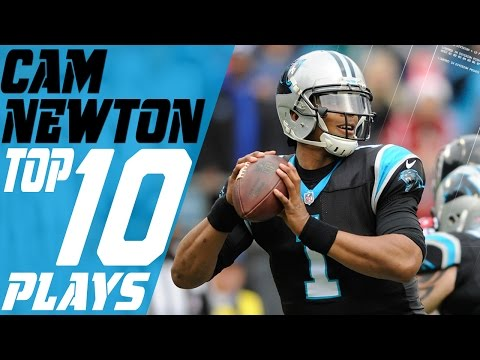 Cam Newton's Top 10 Plays of the 2016 Season | NFL Highlights