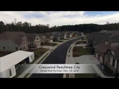 Cresswind Peachtree City Model Park Preview: Nov 10 2016