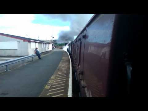 North Wales Explorer Steam to Holyhead