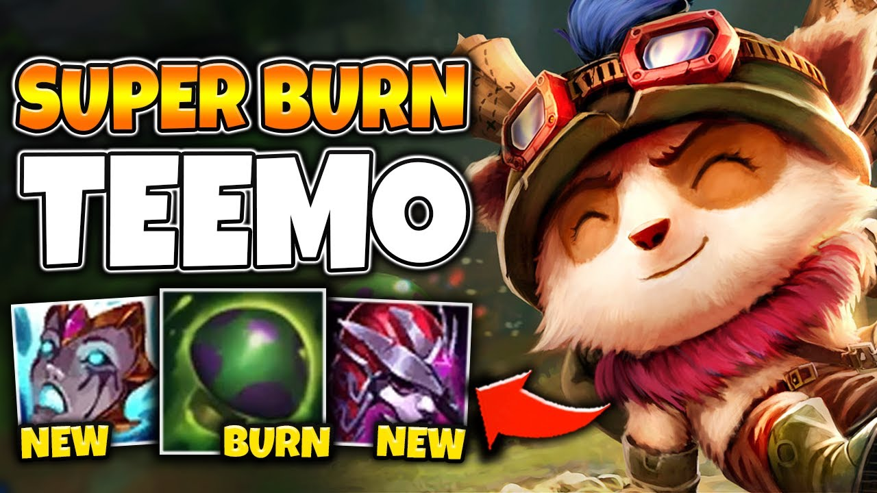 Zwag - THIS SUPER BURN TEEMO BUILD TICKS 25% OF THEIR HP PER SECOND?! - League of Legends