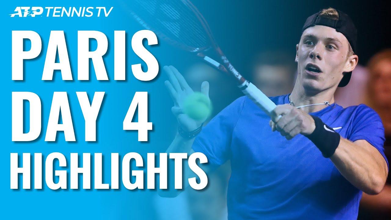 Nadal Sets Up Tsonga Clash; Djokovic, Dimitrov, Shapovalov Advance | Paris 2019 Highlights Day 4
