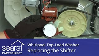 How to Replace the Shifter Assembly on a Whirlpool Vertical Modular Washer (VMW)