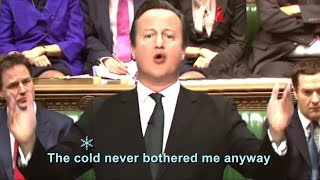 """""""Let Them Freeze!"""" – Politicians in Frozen the Musical"""