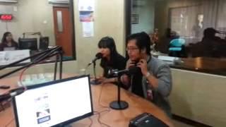ADARA -TALK LIVE AT HEARTLINE FM JAKARTA