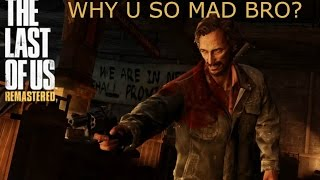 How to beat David - The Last of Us Remastered Boss fight [PS4 HD Gameplay]