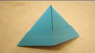 Favorit Papierhut falten - Papier falten zum Hut - Origami Hut einfach DC26