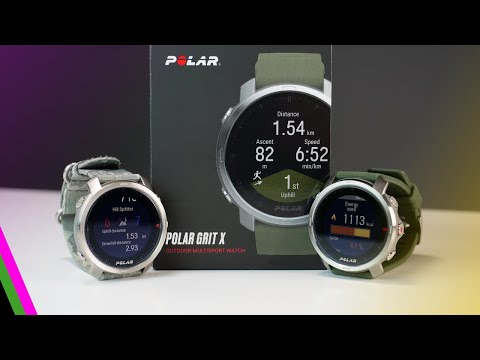 Polar Grit X Outdoor GPS Sportswatch