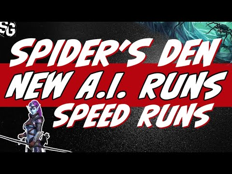 Spider 24 | 25 new A.I. w/ very slow Coldhearts. Easy to gear for everyone. Raid Shadow Legends