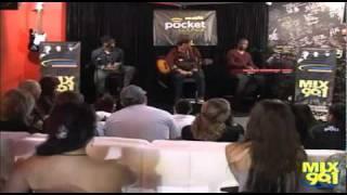 "Bruno Mars sings ""Baby"" (Justin Bieber) at Mix 96.1 Live Music Lounge [Full]"