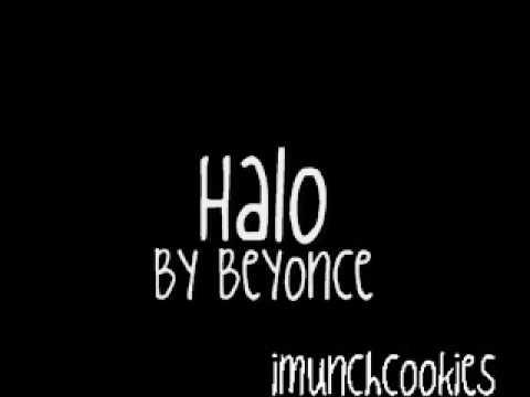 Halo Beyonce With Lyrics Chords Chordify