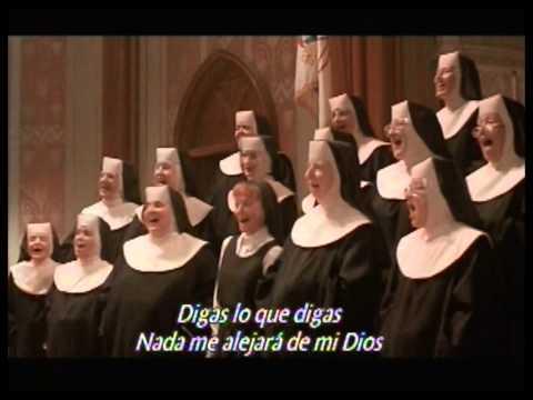 My God En Espanol de Sister Act Letra y Video