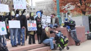 Million Mask March Denver, CO In HD Nov 5, 2013