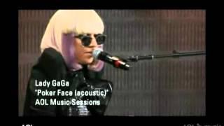 YTP Lady Gaga Poker Face Acoustic Version