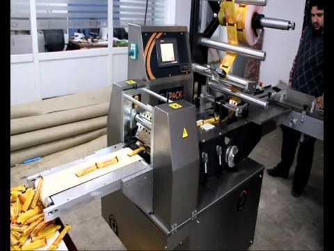 ElitPack Kurabiye paketleme Makinası (Yatay Ambalaj)