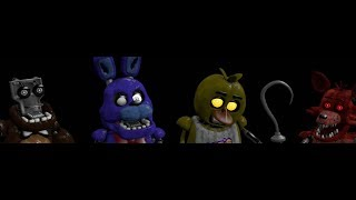 Five Nights: Scrapped Characters Sing The FNAF Song