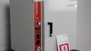 HERAEUS ST5028 TROCKENSCHRANK 250°C STERILISATIOR AUTOKLAV HEIßLUFT SCHRANK BUND