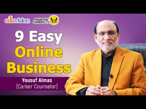 9 online businesses you can run from home | Yousuf Almas | Pakistan career TV
