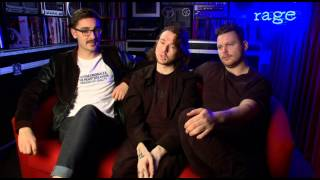Alt-J discuss their music video for 'Every Other Freckle' on Rage
