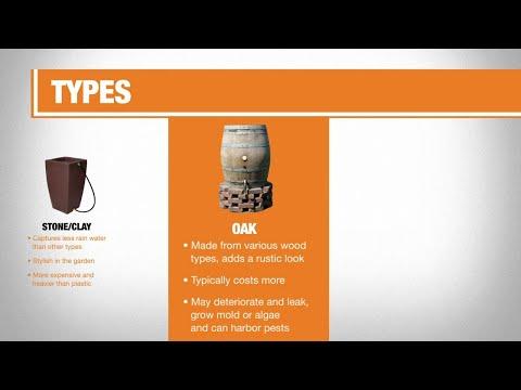 Types of Rain Barrels